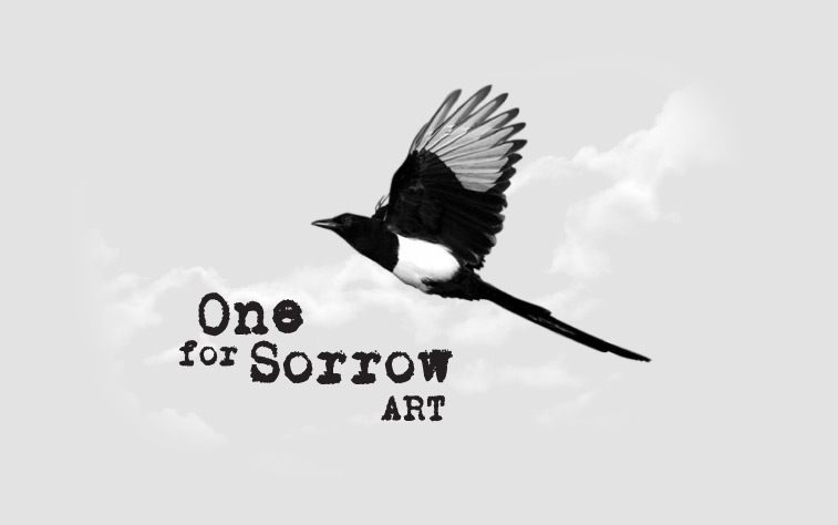 One For Sorrow Art Logo