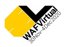 Waf Virtual Logo