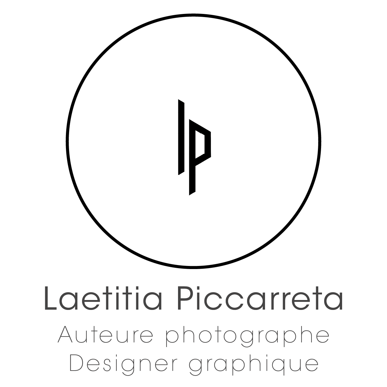 Logo Lp Photographe Design Graphique Transparent
