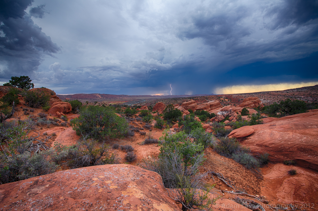 Storm In Arches