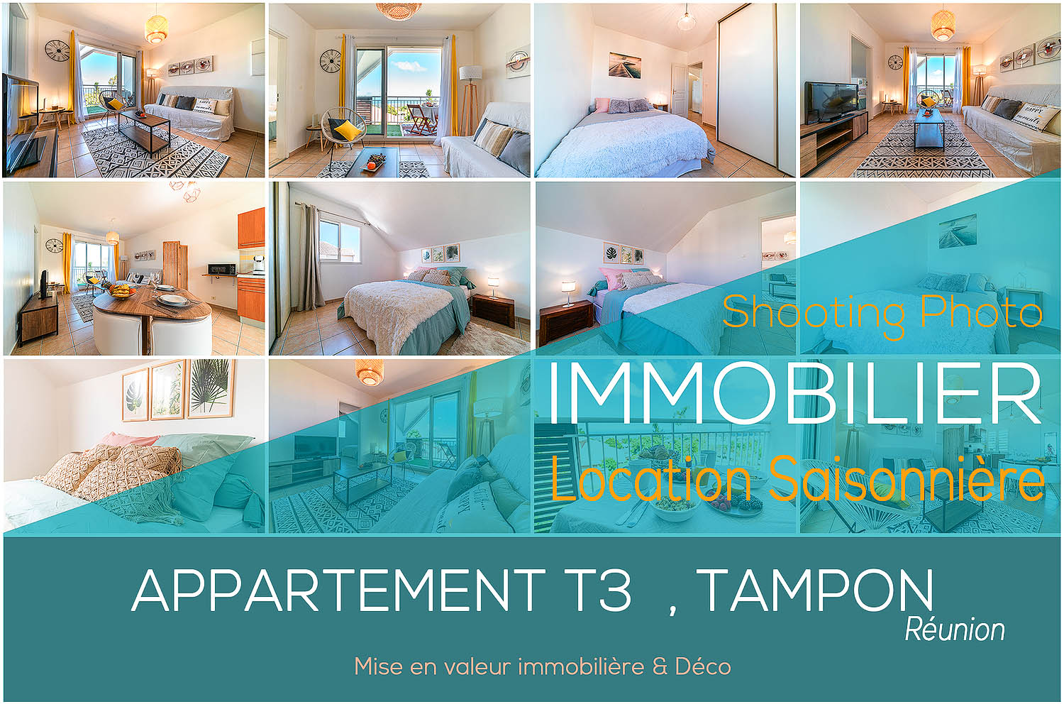 Shooting Photographe Immobilier Reunion T3 Tampon Figuiers