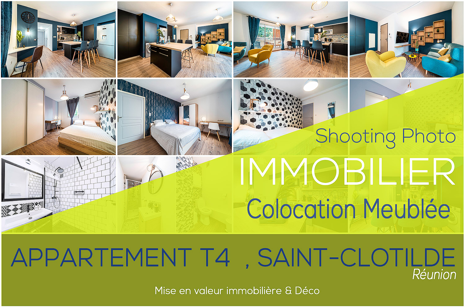 Shooting Photographe Immobilier Reunion Colocation Reunion T4