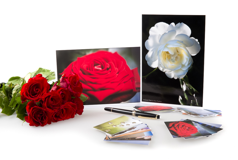 Art Cards   Business Cards And Roses 2