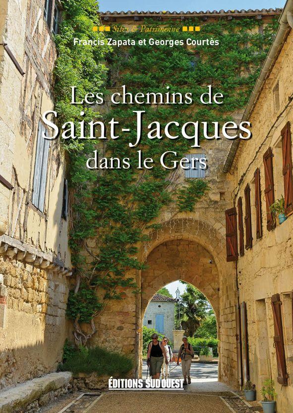 Livre Les chemins de Saint-Jacques dans le Gers