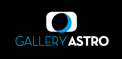 Logo Gallery Black Blue