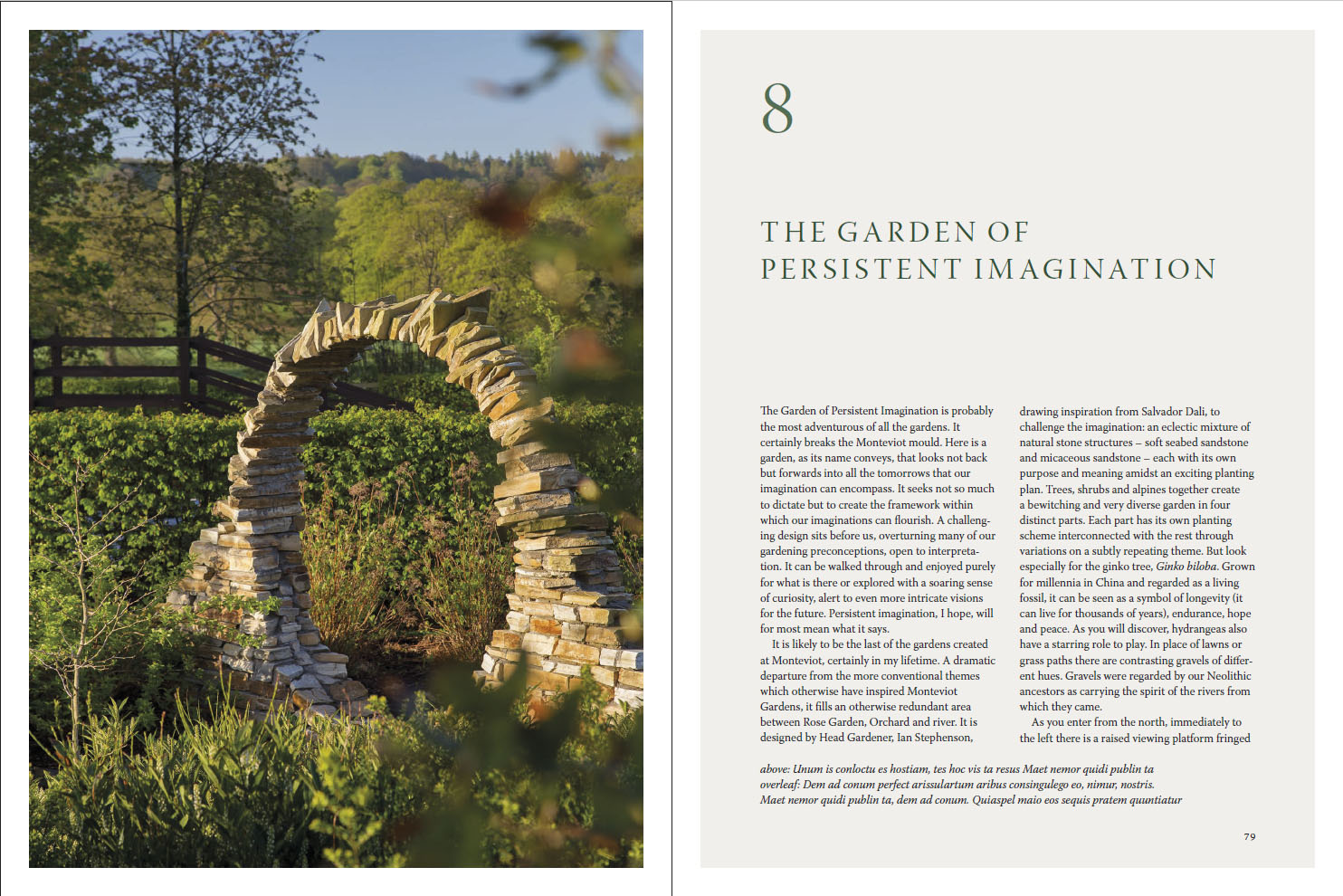 Magical Gardens Of Monteviot P 78 79