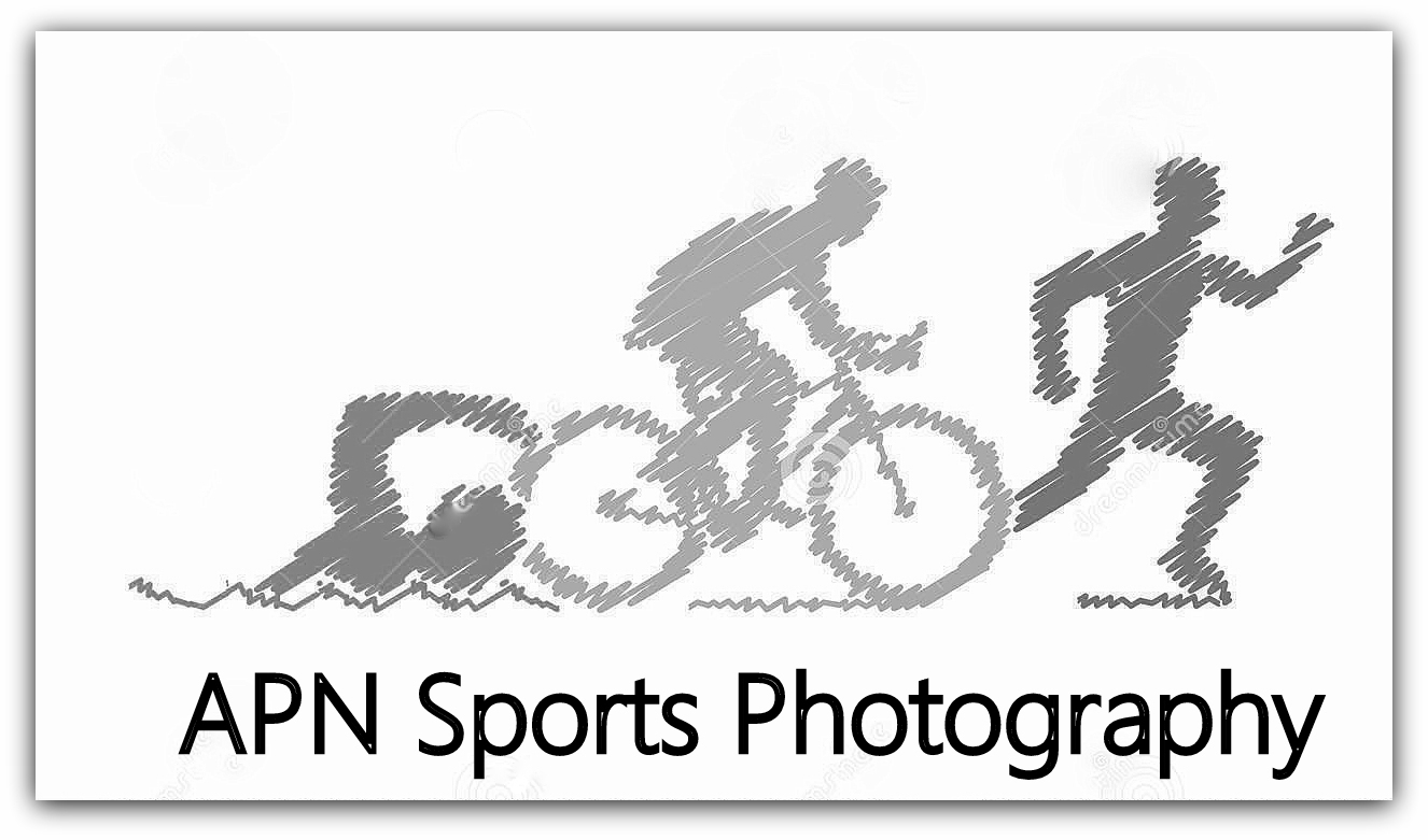 Colored Pencil Drawing Logo Triathlon Figures Triathlete Triathletes White Background Swimming Cycling Running 66773227