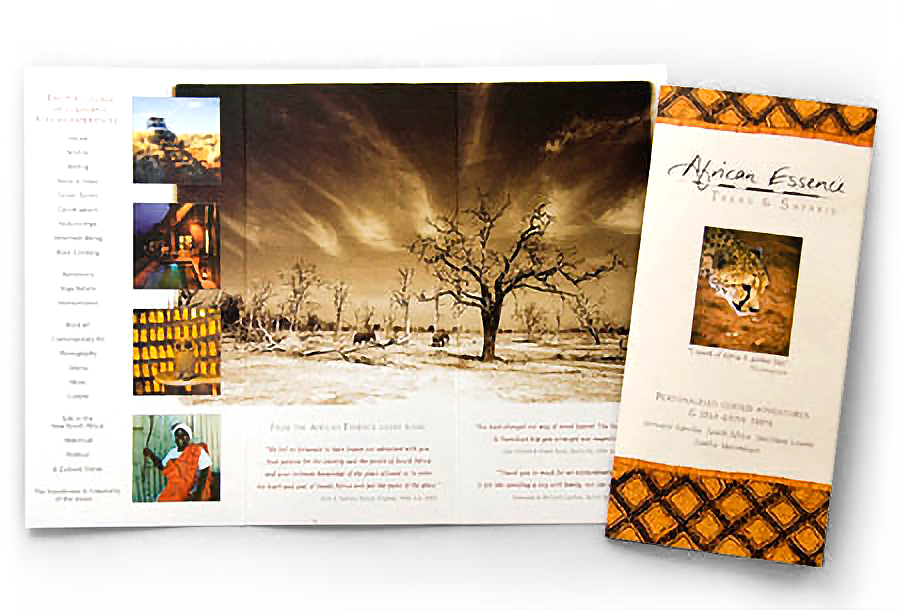 African Essence Brochure Stock Photography By Andy Nix Pix
