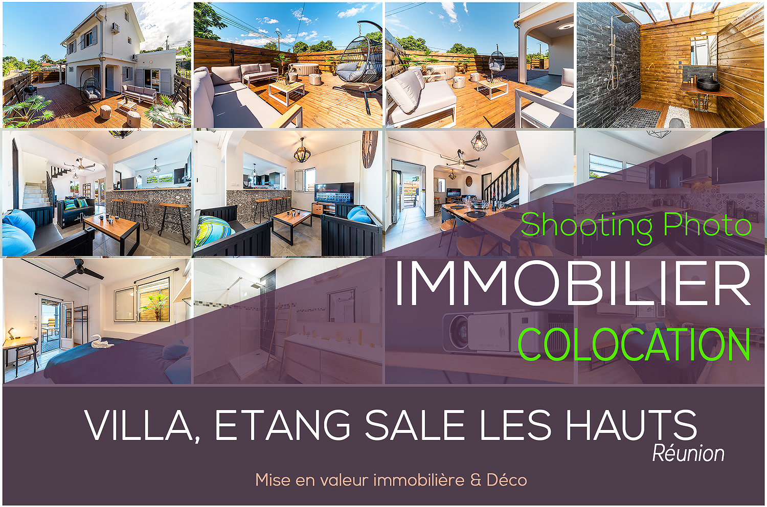 Photographe Immobilier Reunion Colocation Villa