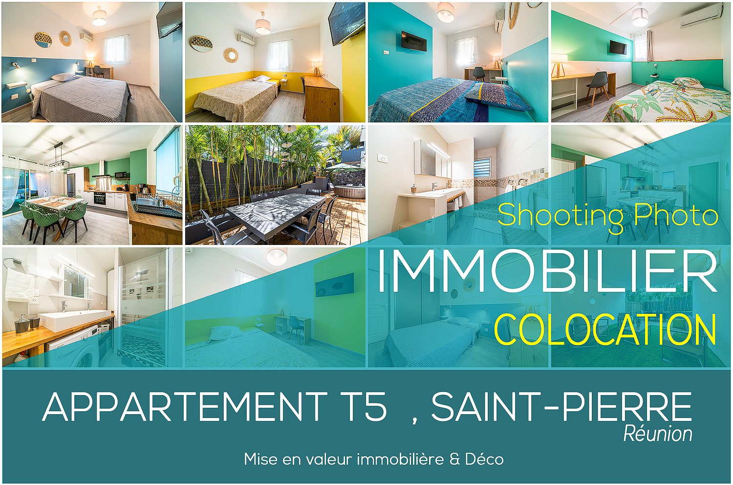 Shooting Photographe Immobilier Reunion Colocation